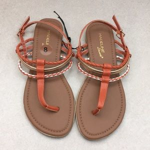 Madeline Stuart strappy buckle thong sandals